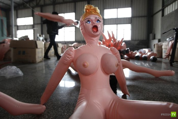 Китайская фабрика секс-игрушек ...