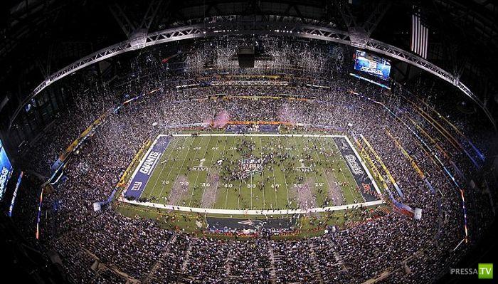 Охрана на кубке Super Bowl (5 фото)