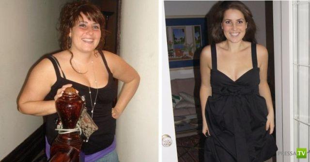 Они сбросили лишние килограммы и стали другими людьми...Фотографии до и после...