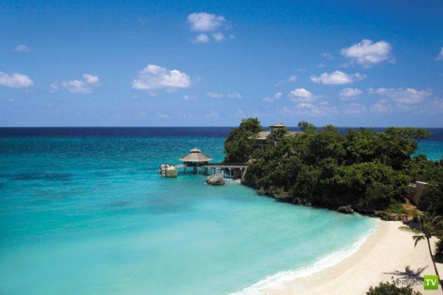 Райский уголок на острове Боракай, Филиппины.