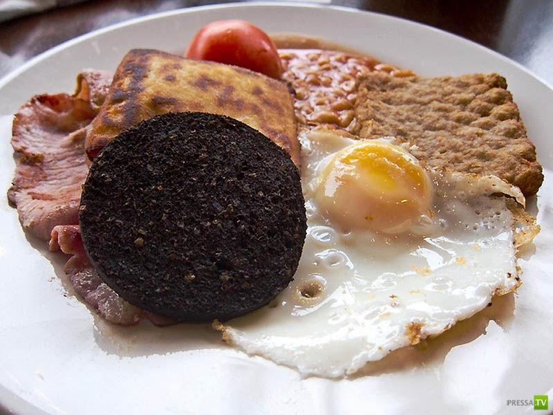 Что едят на завтрак в разных странах мира...