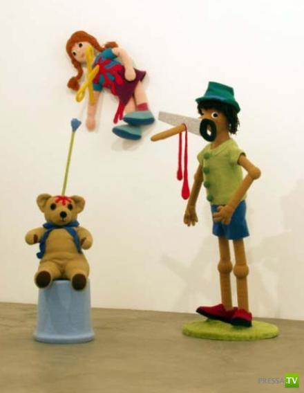Недетские игрушки... Да, посмотришь и засомневаешься в адекватности создателей...