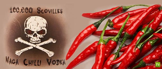 Naga Chilli Vodka - самая жгучая водка ...