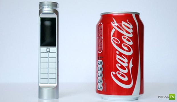 Существует мобильный телефон, работающий на кока-коле