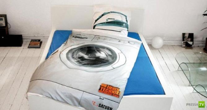 Необычное постельное белье. Подборка фотографий