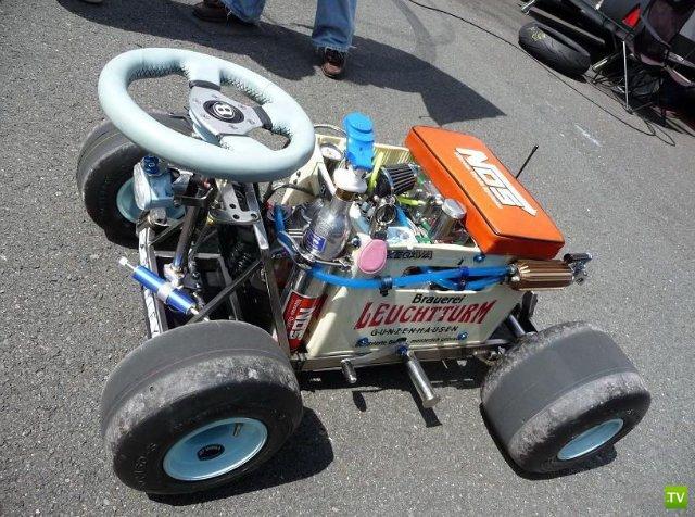 Пивной ящик на колёсах
