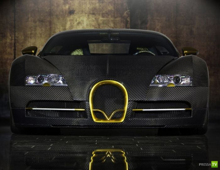 Mansory Bugatti Veyron - подборка фотографий