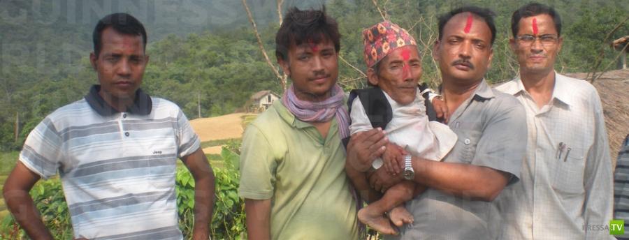 Чандра Бахадур Данги - самый маленький человек ...