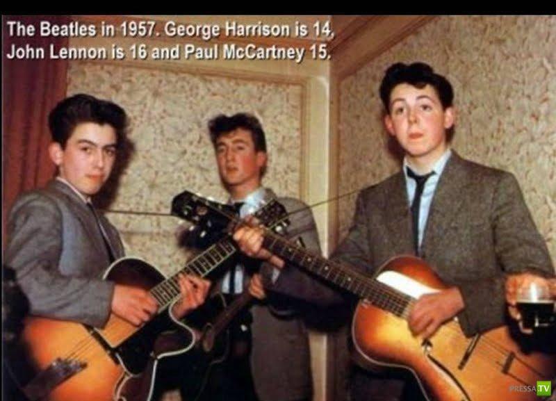 Очень редкие фотографии знаменитых людей и событий... (23 фото) .
