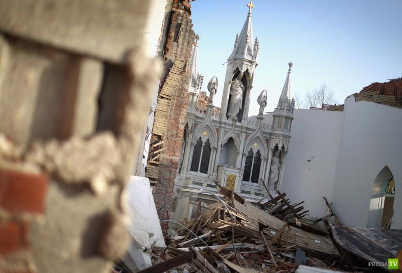 Торнадо - страшные и разрушительные... (16фото)