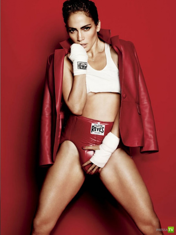 Дженнифер Лопес занялась... боксом (9фото)