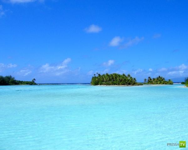 Солнечные пейзажи острова Бора-Бора ... (фото 24)