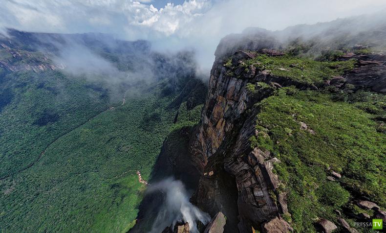 Высочайший в мире водопад Angel Waterfall (11фото + видео)