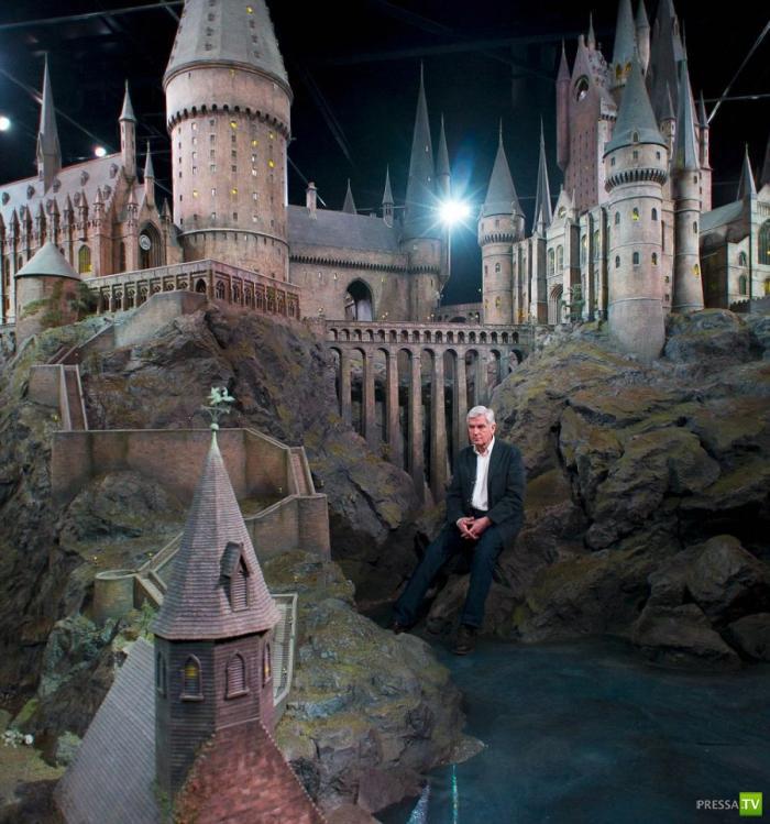 Как выглядел Замок Хогвартс из кино про Гарри Поттера на самом деле (4 фото + видео)