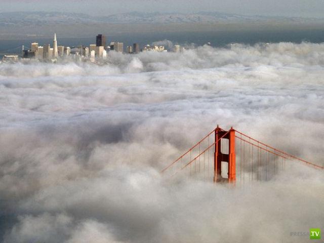 Города в облаках (10 фото)