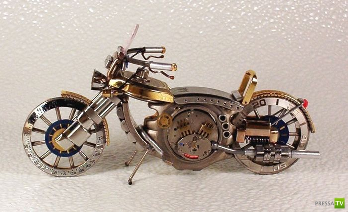 Необычные сувениры из старых часов (35 фото)