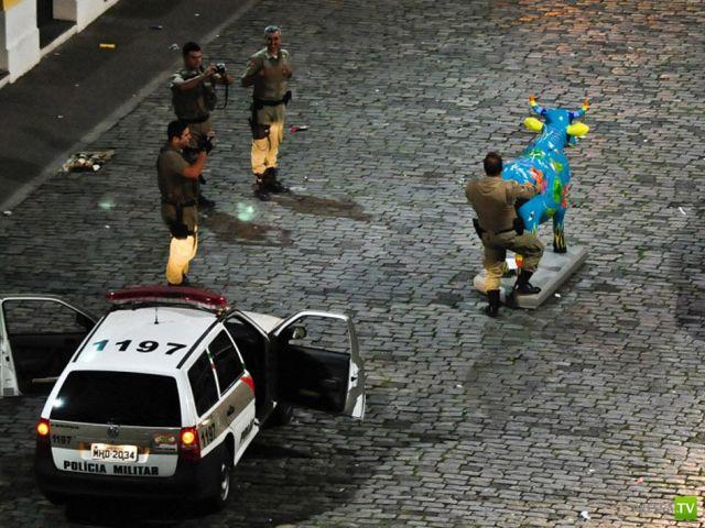 Полицейские будни. Подборка прикольных фотографий (45 фото)