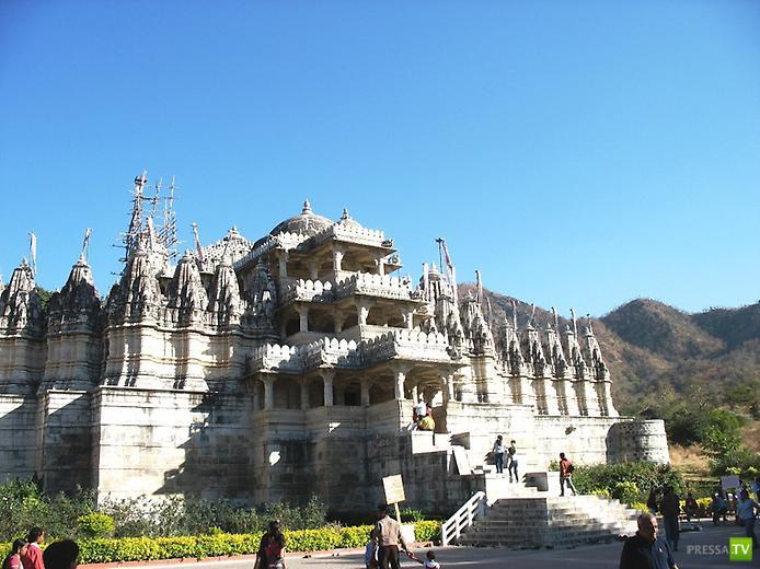 Храмовый комплекс Ранакпура ... ( 9 фото)