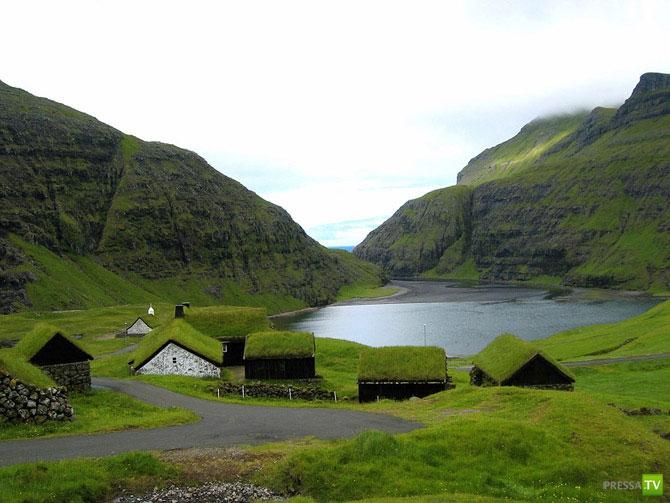 Фарерские острова ... (10 фото)