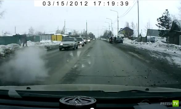 Отвалилось колесо... в Нижневартовске