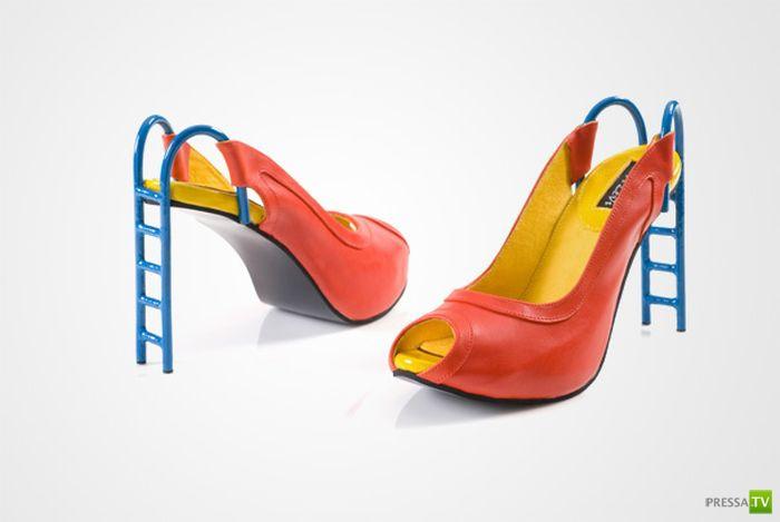 Креативная обувь от Коба Леви (27 фото)