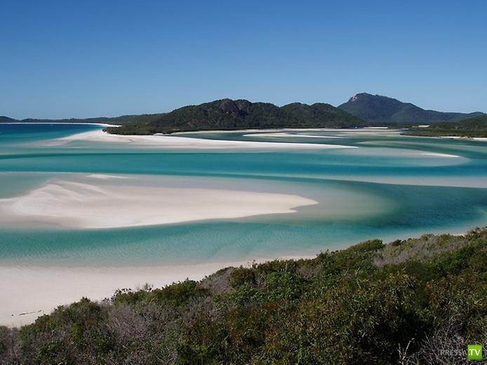Один из лучших пляжей Австралии - Белый Рай (11 фото)