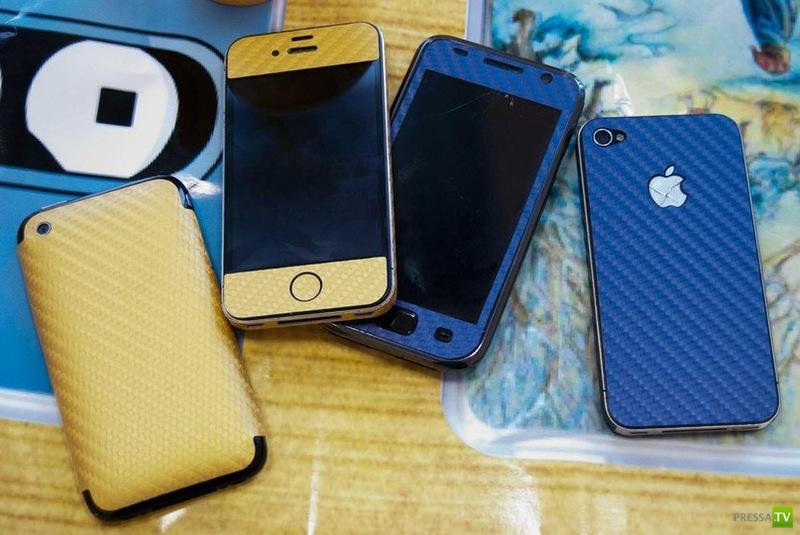 Ванильний айфон и айпод с корицей (24 фото)