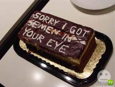 Более чем странные надписи на тортах (10 фото)