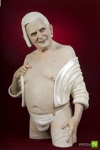 Неординарные скульптуры... (7 фото)