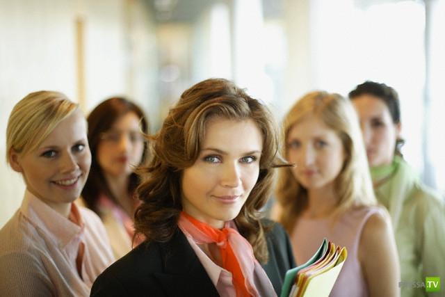 Женский коллектив глазами мужчины ... (фото)