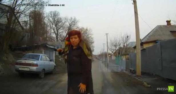 Пьяная женщина перекрыла движение в Белгороде