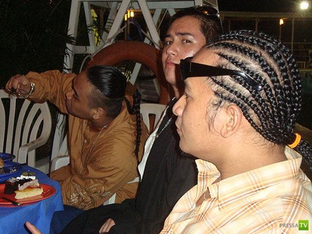 Причудливые азиатские прически (30 фото)