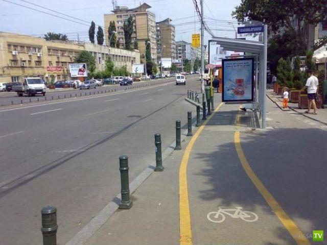 Необычные велосипедные дорожки в Болгарии (12 фото)