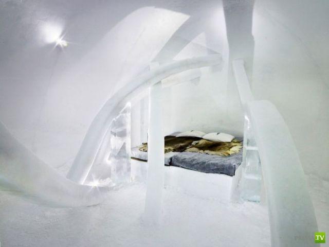 Icehotel - Ледяной отель в Швеции (26 фото)