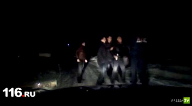 В Казани избили сотрудника ДПС