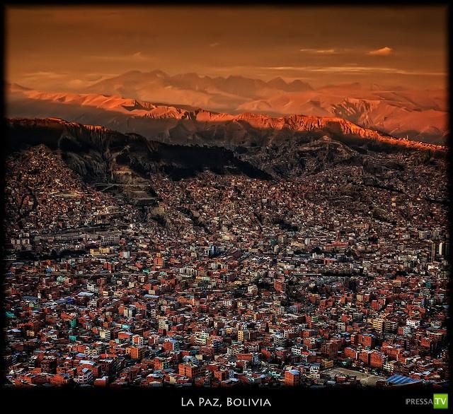 Плато Альтиплано и его пейзажи ... (16 фото)