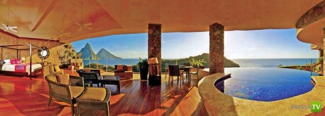 Jade горный курорт на карибском острове Сент-Люсия (30 фото)