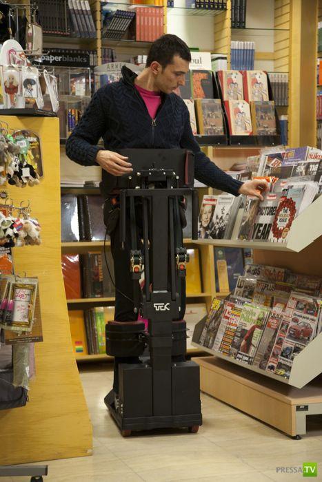 Устройство, которое заменит инвалидные коляски (26 фото)
