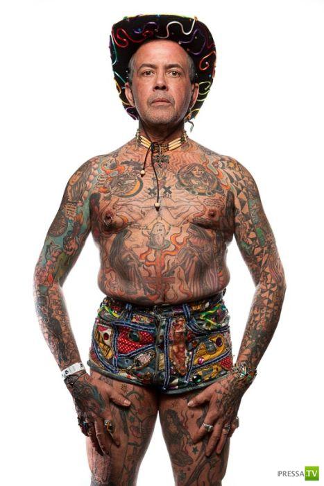 Татуировки в Филадельфии (20 фото)