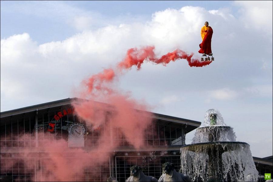 Летающий монах - Автор Li Wei (5 фото)