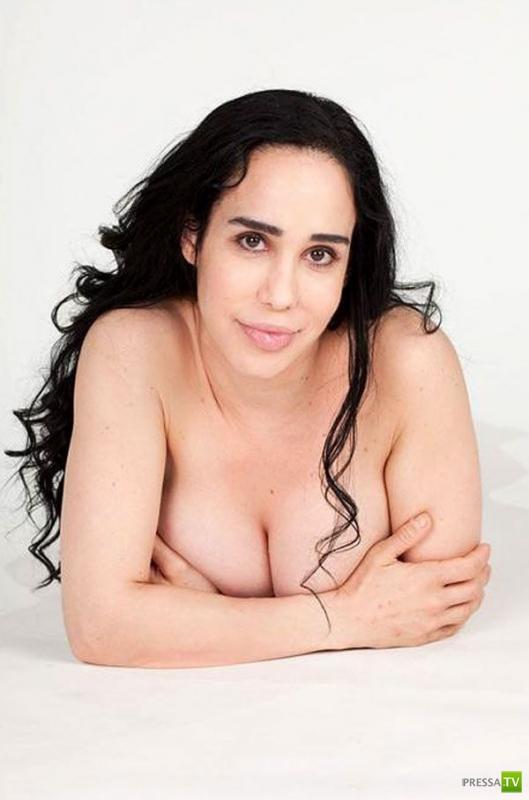 Надя Сулейман знает, как сбросить вес после родов. (5 фото)