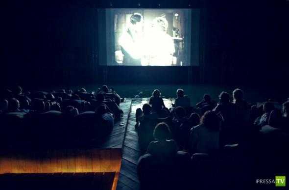 Необычный кинотеатр... (9 фото)