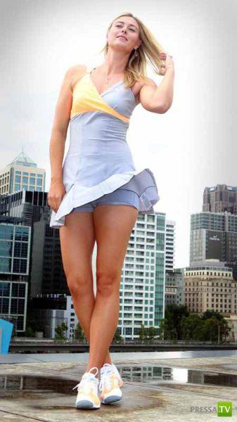 Российская теннисистка Мария Шарапова (38 фото)