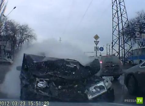 Авария в Ростове-на-Дону