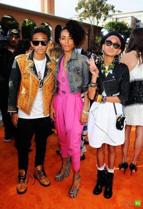 У знаменитостей в моде подростковый стиль (35 фото)
