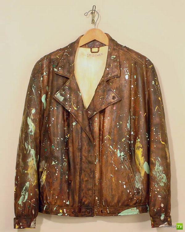 Одежда из необычного материала ... (6 фото)