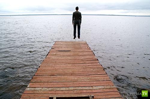 Самое необычное озеро в мире ... (3 фото)
