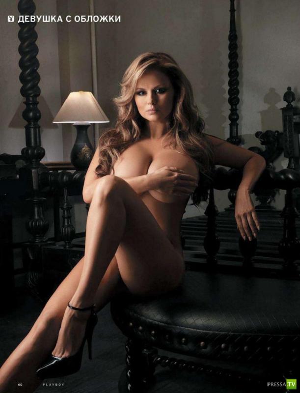 Анна Семенович в апрельском Playboy (6 фото)