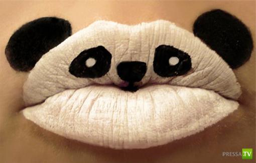 Ох, как непросто красить губы... (11 фото)