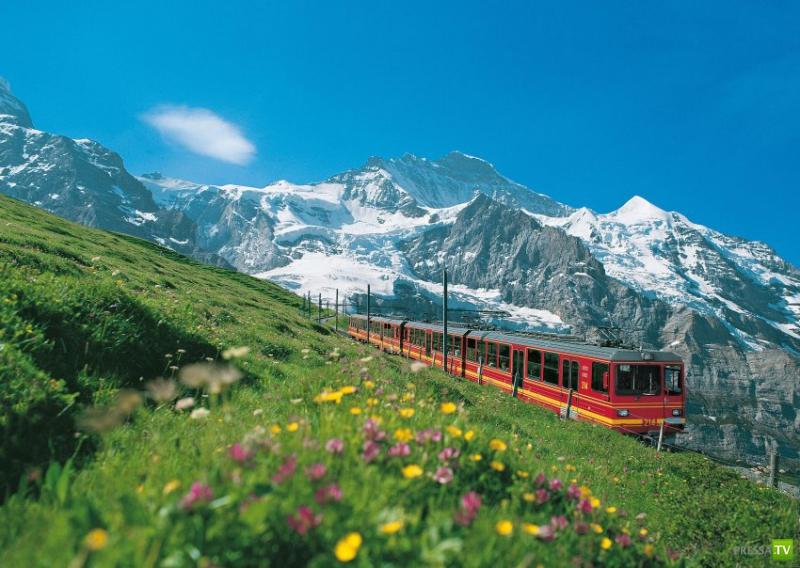 Jungfrau, Interlaken, Switzerland загрузить